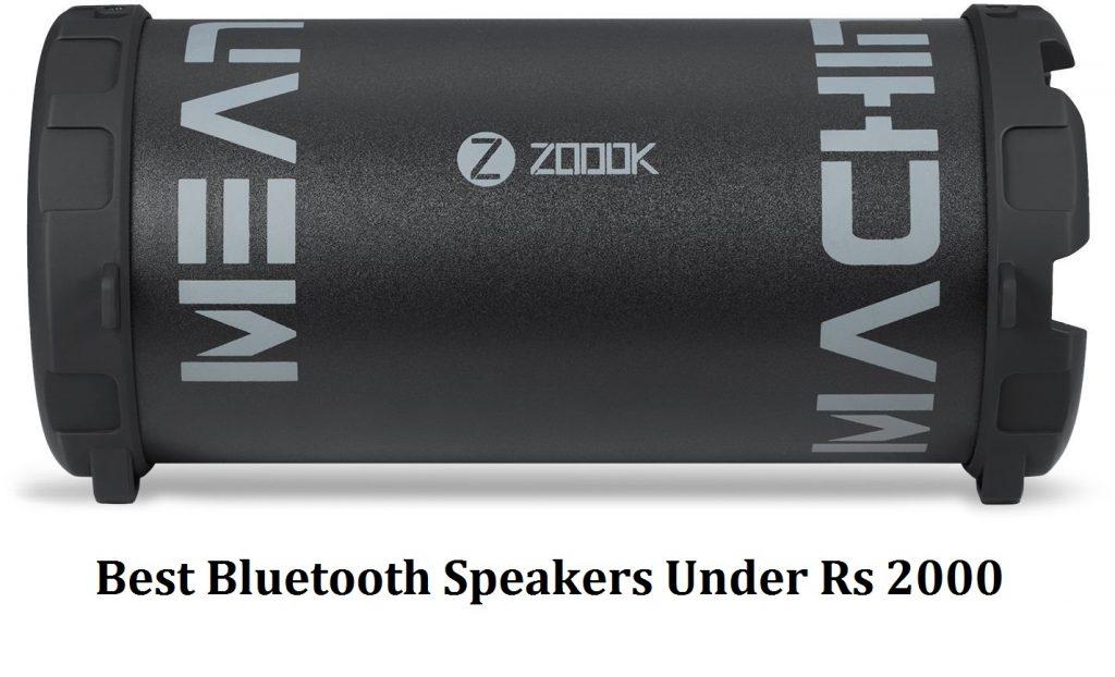 10 Best Bluetooth Speakers Under Rs 2000 In India Blogsmart Net